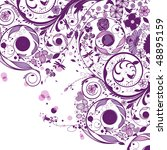 flower | Shutterstock .eps vector #48895159