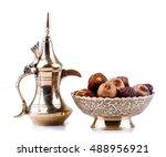 premium dates arranged in... | Shutterstock . vector #488956921