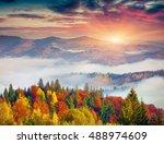 Colorful Autumn Scene In...