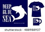 pattern design concept for... | Shutterstock .eps vector #488988937