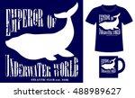 pattern design concept for... | Shutterstock .eps vector #488989627