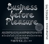 vector inspiring card with set... | Shutterstock .eps vector #489001795