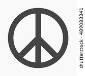 gay icon simple. single gay... | Shutterstock .eps vector #489083341