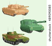 Military Vector Tanks Image...