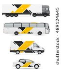 branding design for transport.... | Shutterstock .eps vector #489124645