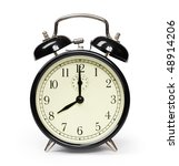 alarm clock isolated on white | Shutterstock . vector #48914206