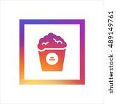 popcorn logo vector  clip art....