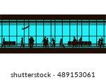 vector illustration of the... | Shutterstock .eps vector #489153061