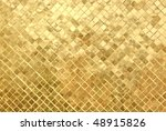 gold mosaic background | Shutterstock . vector #48915826