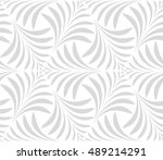 seamless pattern. floral... | Shutterstock .eps vector #489214291