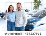 first big buy together.... | Shutterstock . vector #489227911
