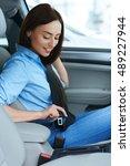 safety on point. vertical shot... | Shutterstock . vector #489227944