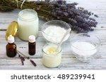 antibacterial  and natural...   Shutterstock . vector #489239941