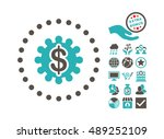 payment options icon with bonus ... | Shutterstock .eps vector #489252109