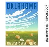Oklahoma  United States Retro...