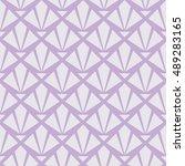 seamless lavender purple art... | Shutterstock .eps vector #489283165