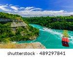 View Of Niagara Falls River...