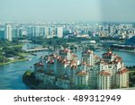 singapore   dec 07  view of the ... | Shutterstock . vector #489312949