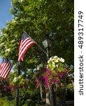 town square alexandria ... | Shutterstock . vector #489317749
