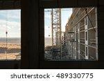 high rise construction | Shutterstock . vector #489330775