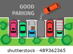 City Parking Vector Web Banner...