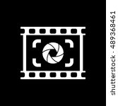 the viewfinder icon. focusing... | Shutterstock . vector #489368461