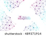graphic abstract background... | Shutterstock .eps vector #489371914
