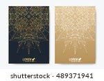 modern vector template for... | Shutterstock .eps vector #489371941