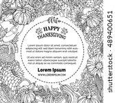 Vector Doodles Thanksgiving...
