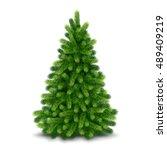 Christmas Tree  Detailed Vecto...