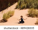 photo of the calm peaceful...   Shutterstock . vector #489428335