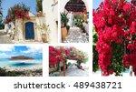 door architecture detail in...   Shutterstock . vector #489438721
