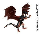 3d rendering of a fantasy... | Shutterstock . vector #489480715