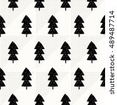 seamless repeating pattern with ... | Shutterstock .eps vector #489487714