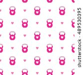 seamless vector pattern with... | Shutterstock .eps vector #489530395