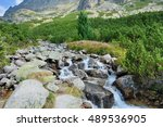 Nature Of High Tatras Mountain...