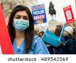 whitehall  london  uk. 6th... | Shutterstock . vector #489542569