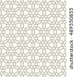 seamless geometric line pattern ... | Shutterstock .eps vector #489550855