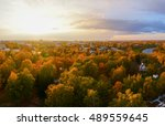 Autumn Nature Aerial Landscape...