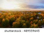 Autumn Landscape. Autumn Park....