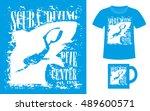 pattern design concept for... | Shutterstock .eps vector #489600571