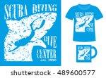 pattern design concept for... | Shutterstock .eps vector #489600577