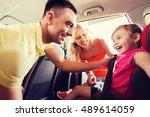 family  transport  road trip... | Shutterstock . vector #489614059