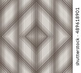 geometric seamless pattern. the ...   Shutterstock .eps vector #489618901