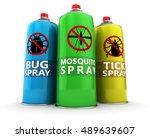 3d illustration of three... | Shutterstock . vector #489639607