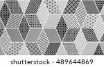 tile  mosaic abstract | Shutterstock . vector #489644869