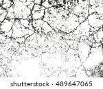 distressed overlay texture of... | Shutterstock .eps vector #489647065