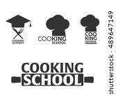 cooking school logo. cooking...   Shutterstock .eps vector #489647149