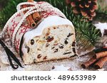 Christmas Stollen And Cookies....