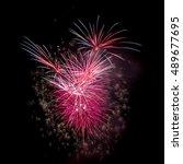 fireworks | Shutterstock . vector #489677695
